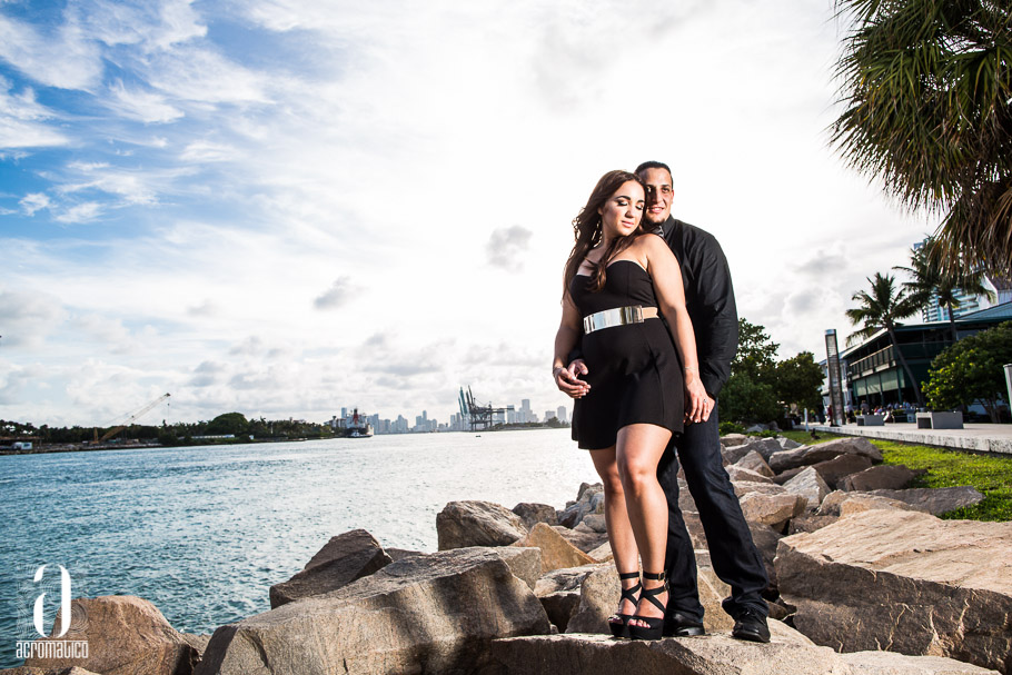 South Pointe Miami Beach Engagement Session-002