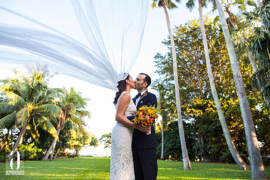 Diana Gaston The Kampong Miami After Wedding Session
