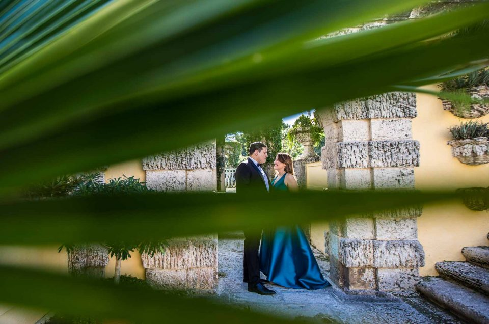 Vizcaya Engagement Session | Edith + Carlos