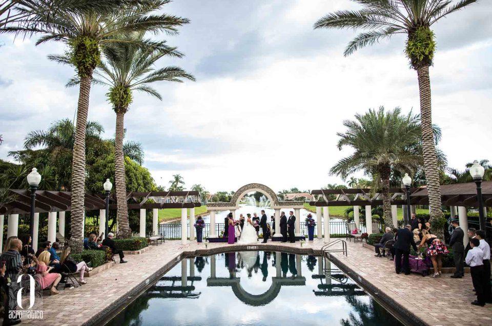 Boca Raton Wedding | Olga + Thomas