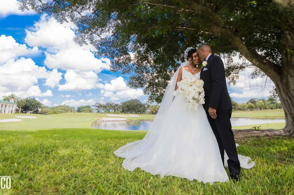 Weston Hills Country Club Wedding | Deidre + Earl