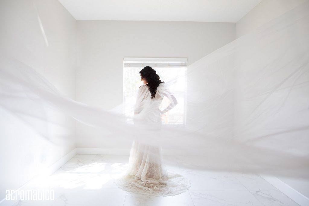 bohemian veil shot