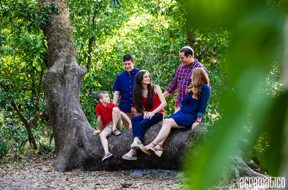 Tree Tops Park Family Session   Miguez Family