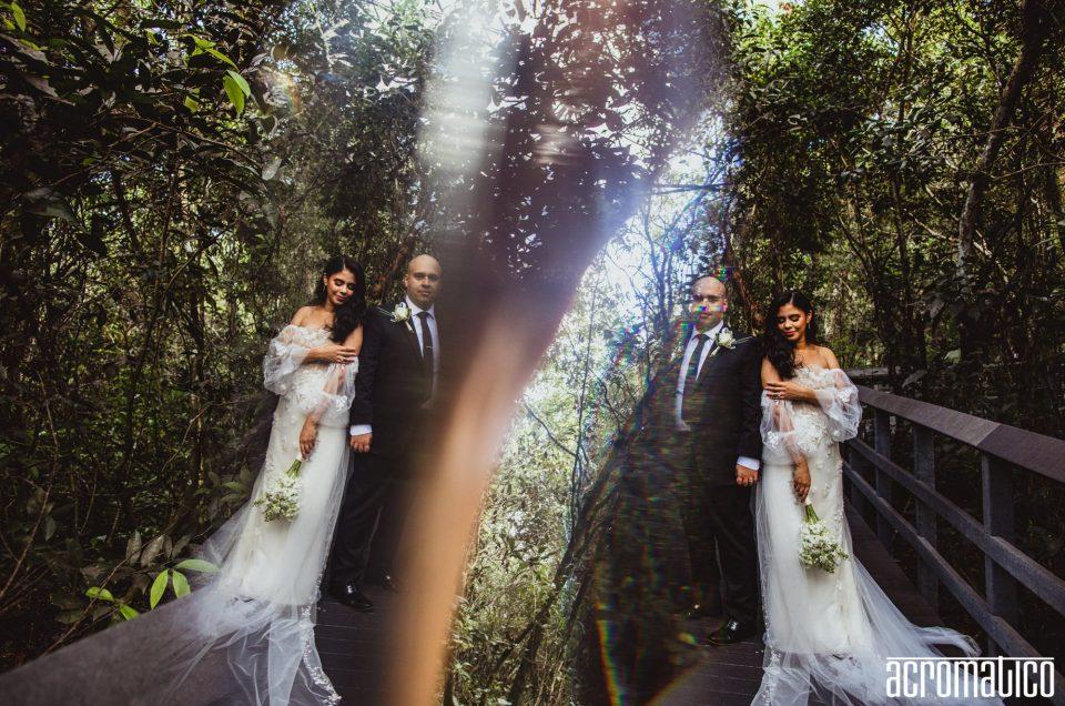 Fern Forest Nature Center Wedding | Geriliz + Paul