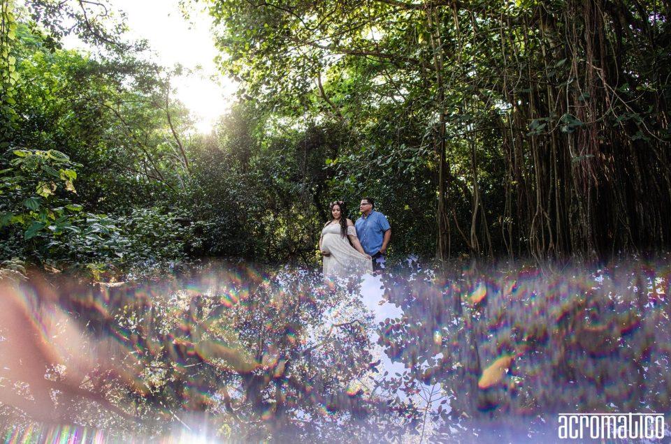 Tree Tops Park Maternity | Josey + Freddie
